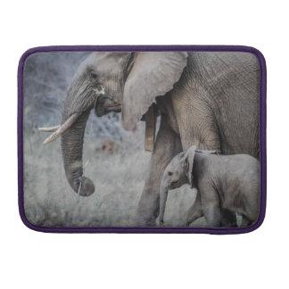 Elephants Sleeve For MacBooks