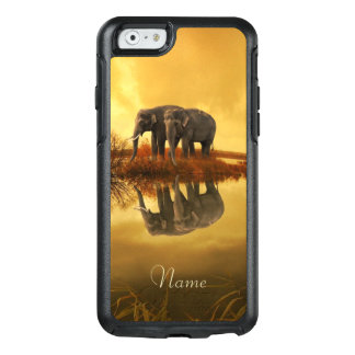 Elephants Sunset OtterBox iPhone 6/6s Case