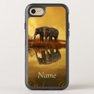 Elephants Sunset OtterBox Symmetry iPhone 8/7 Case