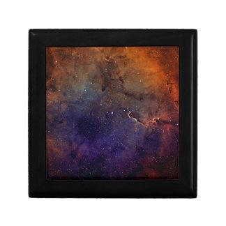 Elephant's Trunk Nebula Small Square Gift Box