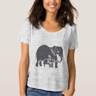 Elephants Women's Bella Boyfriend T-Shirt