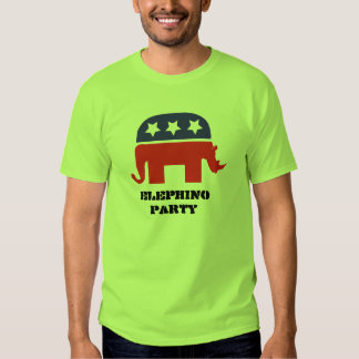 Elephino party t-shirts