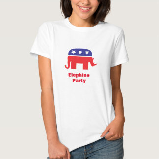 Elephino party. t shirts