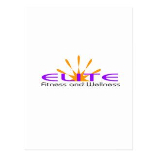 Elete Fitness and Health Postcard