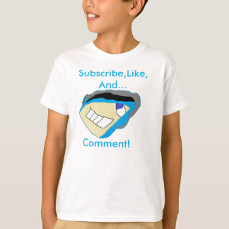EletroDragon55's Sub,Like, And Comment T-Shirt