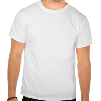 Elevated view of a piece of chocolate cake tee shirt