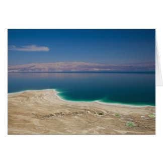 Elevated view of the Dead Sea Greeting Card