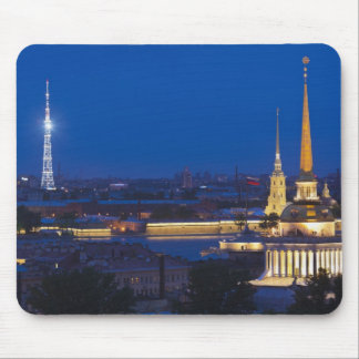 Elevated view of the Television Tower Mouse Pad