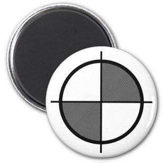 Elevation Symbol Magnet (dark)