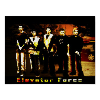Elevator Force Poster
