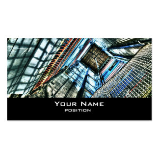 Elevator shaft business card