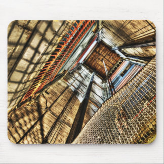 elevator shaft mousepad