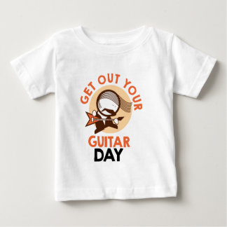 Eleventh February - Get Out Your Guitar Day Baby T-Shirt
