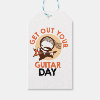 Eleventh February - Get Out Your Guitar Day Gift Tags