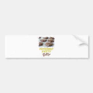 Eleventh February - Peppermint Patty Day Bumper Sticker