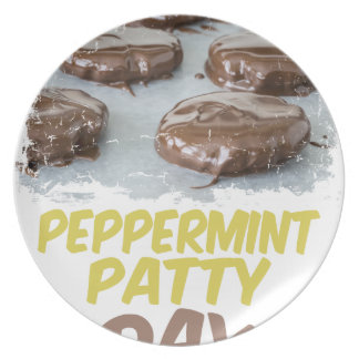 Eleventh February - Peppermint Patty Day Plate