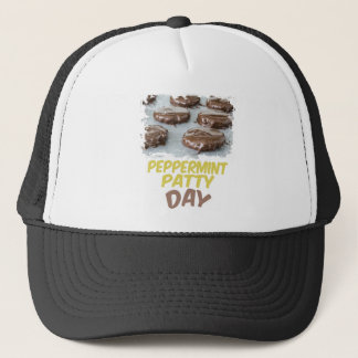 Eleventh February - Peppermint Patty Day Trucker Hat