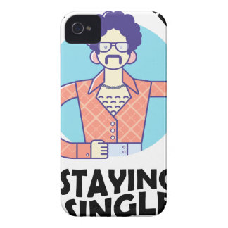 Eleventh February - Satisfied Staying Single Day iPhone 4 Covers
