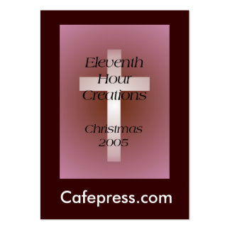 Eleventh Hour Creations Business Card