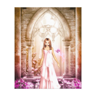 Elf Bride Canvas Print