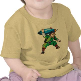 Elf Carrying Christmas Ornament Tshirt