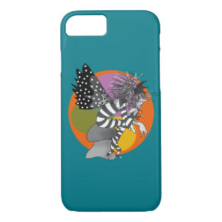 Elf Cartoon Turquoise Artistic Butterfly Brownie iPhone 8/7 Case