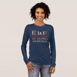 Elf Educator at Santa's Workshop Teacher's Long Sleeve T-Shirt