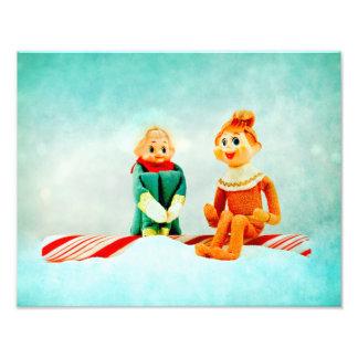 Elf First Date Art Photo