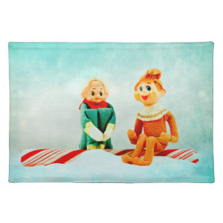 Elf First Date Placemat