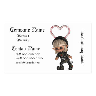 Elf for Christmas Business Cards