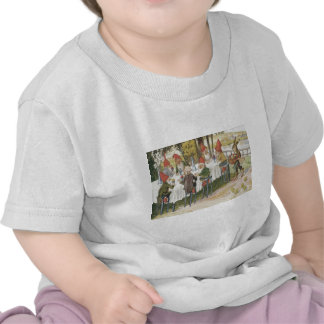 Elf Gnome Easter Bunny Chick Colored Painted Egg Tshirt