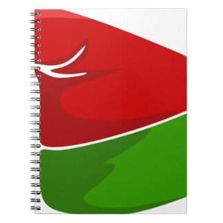 Elf Hat Notebook