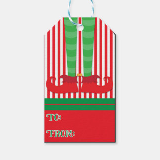 Elf Holiday Gift Tags