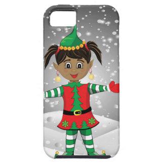 Elf in snow iPhone 5 case