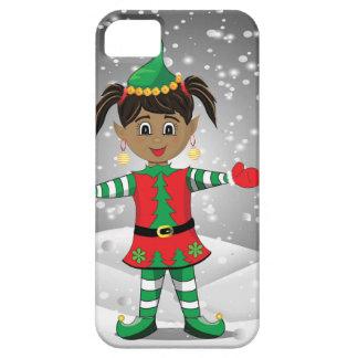 Elf in snow iPhone 5 cases