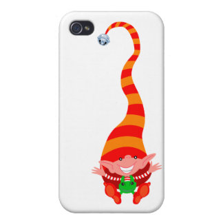 Elf jumping for joy iPhone 4 case