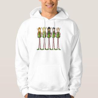 Elf magic Christmas Hoodie, Ladies, Girls Hoodie