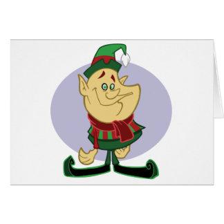 Elf - Merry Christmas Card