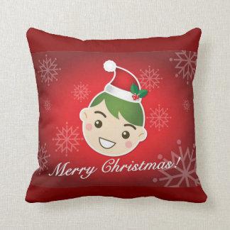 Elf Merry Christmas Cushions