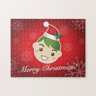 Elf Merry Christmas Jigsaw Puzzles