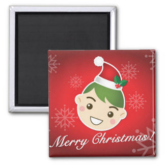 Elf Merry Christmas Magnets