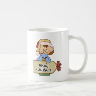Elf merry christmas coffee mug