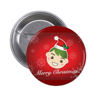 Elf Merry Christmas Pins