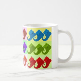 Elf Shoe Pop Art Coffee Mug