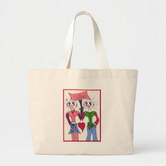 Elf Sisters Tote Bags