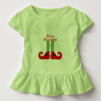 Elf Toddlers Holiday Top