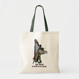 Elf Waves - HARP Tote Bag