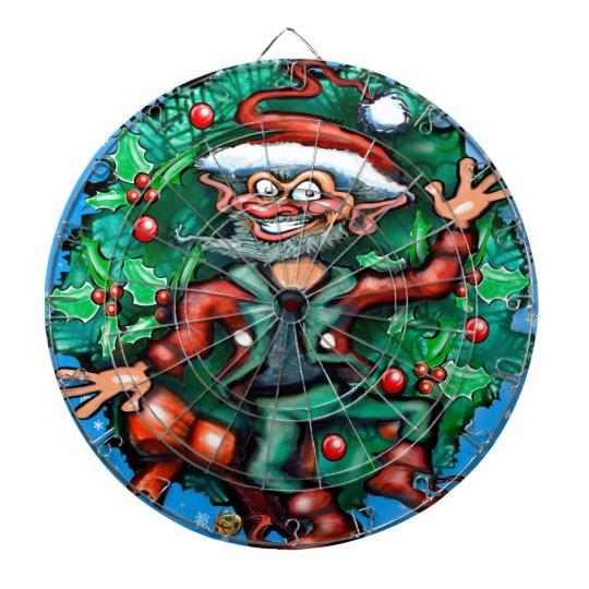 Elf  Wreath Dartboard