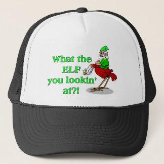 Elf You Lookin At Trucker Hat