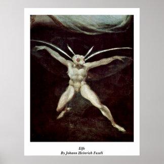 Elfe By Johann Heinrich Fuseli Posters